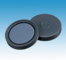 20mm Pharma-Fix-Septa, Butyl/PTFE, 50 shore A, 3.0mm 100/pk