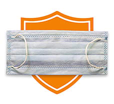 AccuShield 3 Ply Face Mask