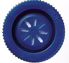 Nunclon Delta flask 80 cm, vent close cap, Blue
