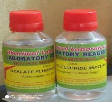 OXALATE FLUORIDE SOLUTION-50 Bottles