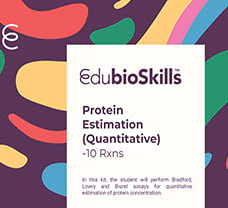Protein Estimation (Quantitative)Teaching kit